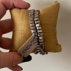 Uno de 50 wrap bracelet